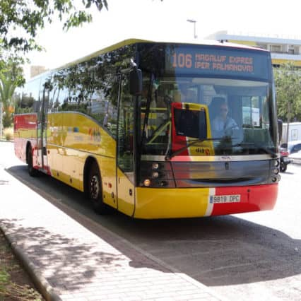Nya busslinjer på Mallorca