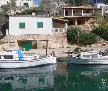 Mallorca – reportaje aéreo en Cala Figuera