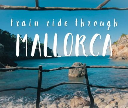 Mallorca – train ride through the island