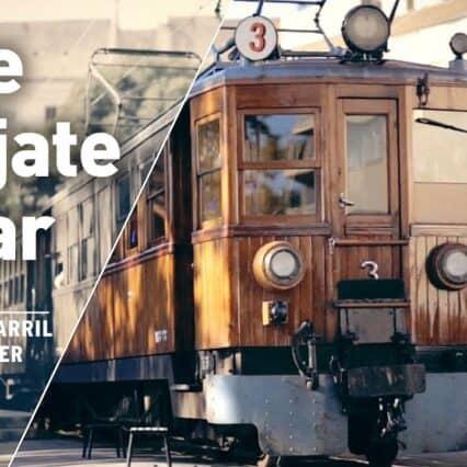 Mallorca – tåget till Soller.