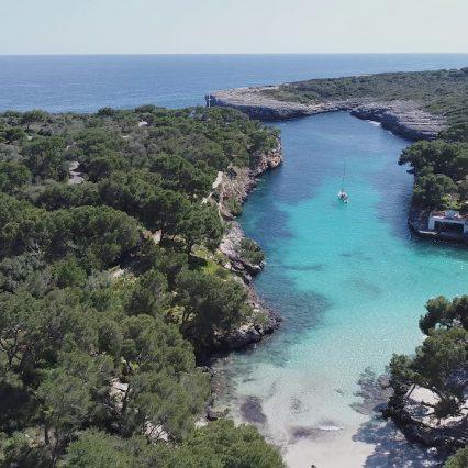 Mallorca – Cala Mitjana de Felanitx.